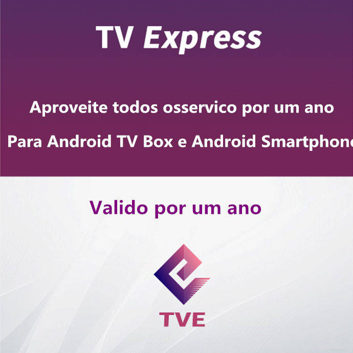TVE Brazil Portuguese Channels TV Express Tvexpress Subscription For Android Tv Box And Smart Phone