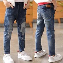 IENENS Baby Boys Jeans Trousers Clothing 4 5 6 7 8 9 10 Years Kids Denim Clothes Pants Children Wear Cowboy Bottoms