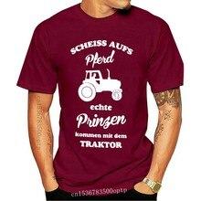 Echte Prinzen kommen mit dem Traktor - Herren T-Shirt-Armee-Spaß