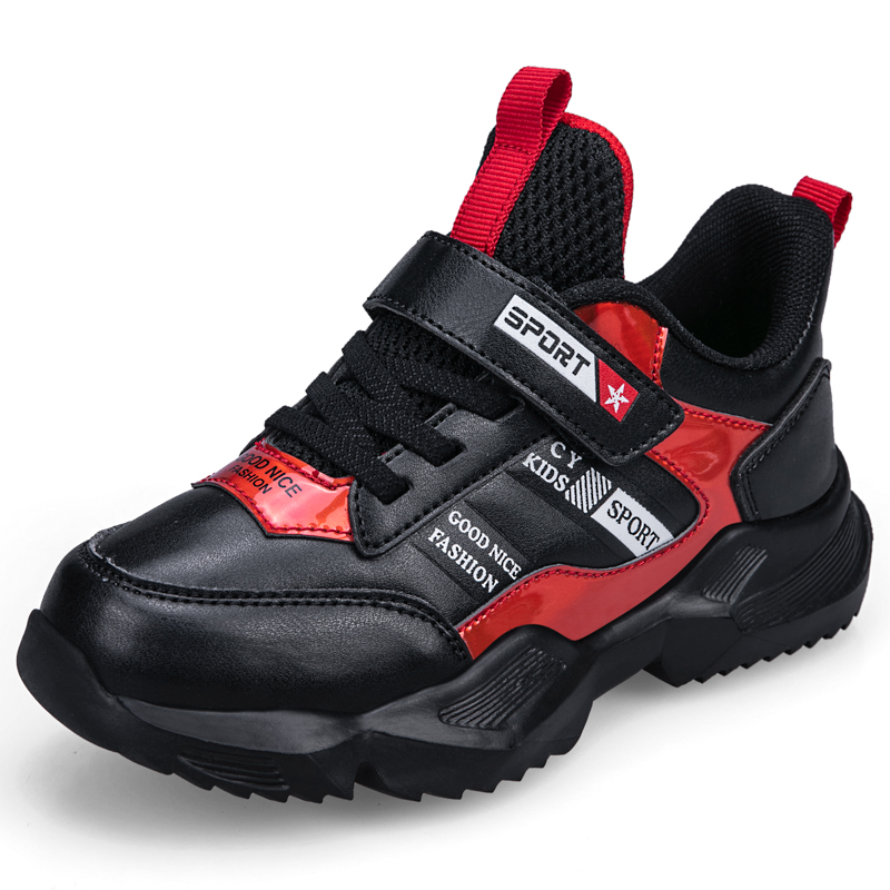 SKHEK Spring New Brand Kids Shoes Boys Sneakers Handmade Slip On Boys Shoes Girls Sneakers Casual Sports Children Shoes