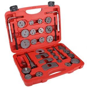 Juego de Herramientas de carpintería Universal de 36 piezas de freno de disco de pistón de rebobinado Kit de herramientas de coche de viento automático conjunto de herramientas para el hogar conjunto