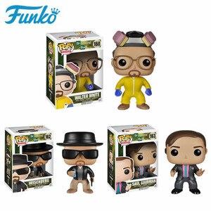 Image 1 - FUNKO Breaking Bad Heisenbergวอลเตอร์สีขาวซาอูลGOODMANตัวเลขการกระทำไวนิลของเล่นสำหรับคริสต์มาสวันเกิดของขวัญ