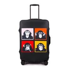 Luggage cover Elastic luggage dustproof Travel dust jacket customized trolley case 20/24/28/30 inch