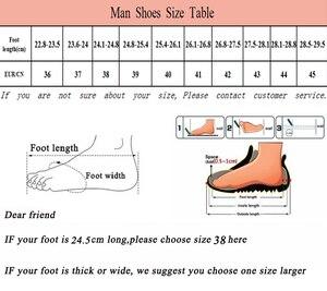 Image 5 - חם מותג גברים אירופאי בטיחות בעבודת סטנדרטית פלדה, קל משקל נעלי ספורט, ארבע עונה לנשימה החלקה נעליים מזדמנים.