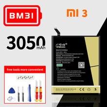 High capacity  bm31 bm32 bm35 bm38 lithium polymer battery for xiaomi mi3 mi4 mi4C MI 4S Genuine mobile phone