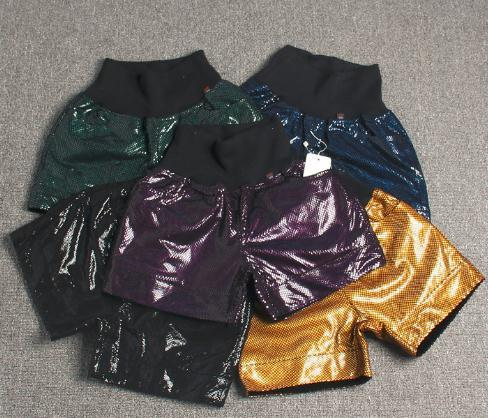 Free Shipping,Brand Women Genuine Leather Shorts.fashion Soft Sheepskin Slim Short Pants,female Sexy Shorts.Shaping Shorts.