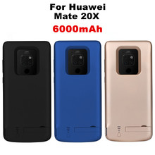 NTSPACE 6000mAh Battery Charger Cases For Huawei Mate 20X Power Case External Bank Charging Cover Backup Powerbank
