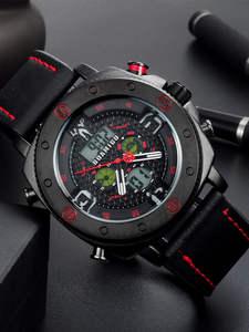 BOAMIGO Men Watches Chronograph Digital Military Sport Fashion Bussiness Casual Hot Quartz