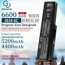Golooloo 11.1v 6600mAh PA3634 PA3635 도시바 위성 C660 A665D C640 C645D C640D C650 C655 C655D C660 C660D