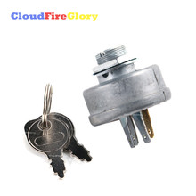 5 Pins Tractor Mower Ignition Starter Switch With Key 725-0267 925-0267 For MTD Murray 21064PA Noma 44745 300275