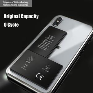 Image 4 - Pinzheng Hoge Capaciteit Telefoon Batterij Voor Iphone X Xr Xs Max Replacment Bateria Voor Iphone X Xr Xs Max Batterij met Gereedschap