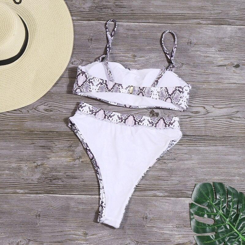 H2277a17515de4c8cb6d542dd64db7a34e Minimalism Le Solid High Waist Bikinis Sexy Leopard Swimsuit Women Snake Print Bathing Suit 2019 New Swimwear Summer Beachwear