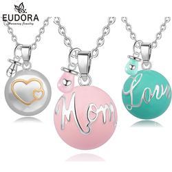 Ожерелье с подвеской Eudora для беременных bola, 20 мм, ожерелье с шариком harmony bola с мини-соской, украшение для беременных, подарок для мамы