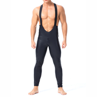 Men Black Faux Patent Leather Bodysuit Open Crotch Jumpsuit Sexy Latex Catsuit Costume Male Nightclub Stage Dancing Costume