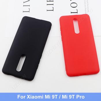 Dla Xiaomi Mi 9T Pro Mi 9T silikonowy TPU miękki telefon matowy powrót skrzynki pokrywa Coque Funda dla Xiaomi Mi 9T Pro tanie i dobre opinie UZWZW CN (pochodzenie) Matte Soft Shock-Proof Scratch-Resistant Anti-Skid Zwykły przezroczyste