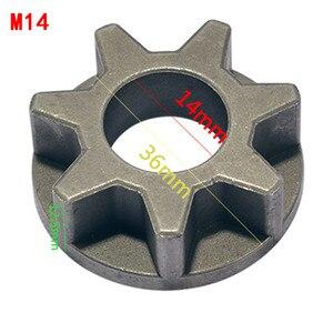 Image 3 - M10/M14/M16 チェーンソー 100 115 125 150 180 交換ギアさまざまな角度工具チェーンソーブラケット木工