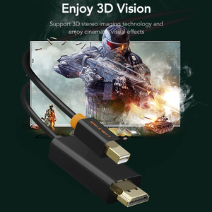 Image 4 - CABLETIME New Arrival 2020 Thunderbolt Mini DisplayPort dp DP to HDMI Adapter HDMI DP Cable for 1080P TV Computer MacBook C055