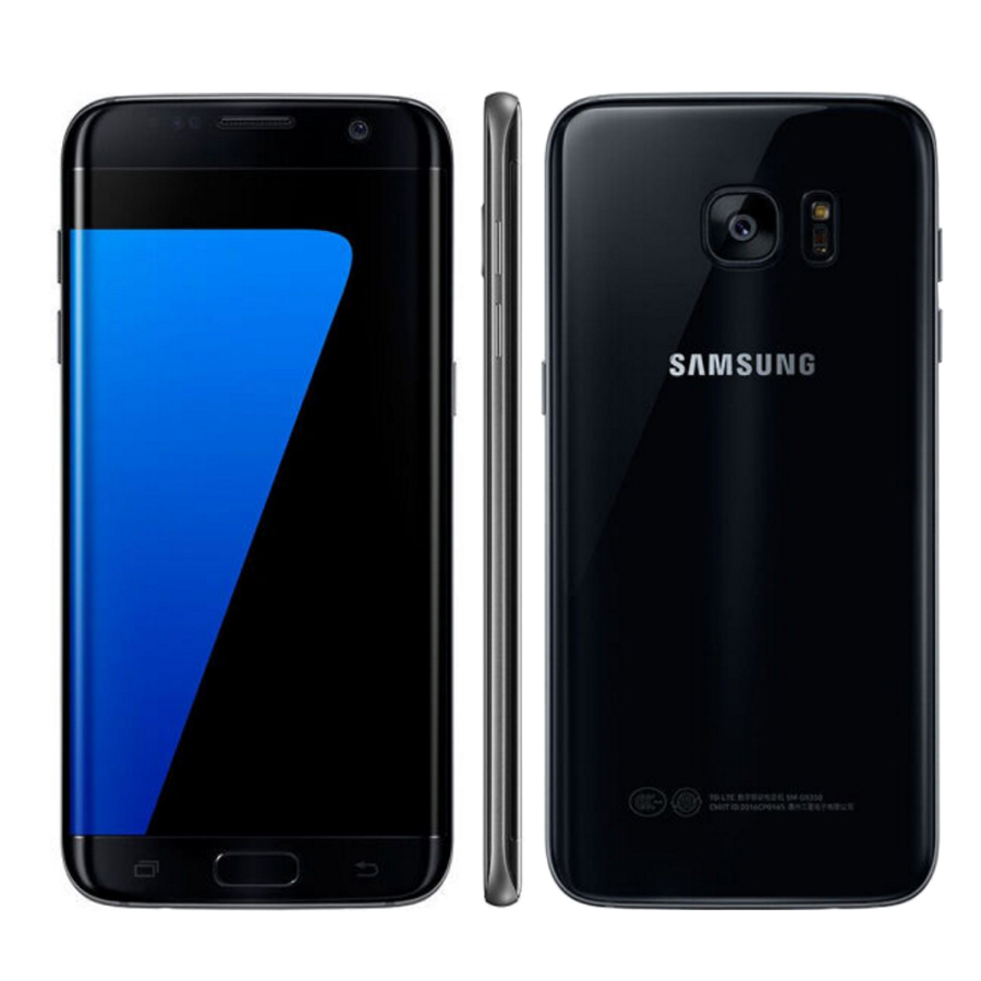 New Original 5.5 inch Samsung Galaxy S7 edge Duos G9350 Dual SIM 64GB Mobile Phone 4G LTE Snapdragon 820 4GB RAM 32GB NFC Phone image
