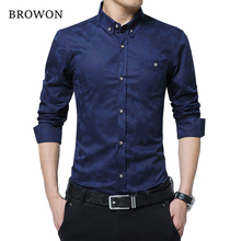 Hot Sale New Fashion Casual Men Shirt Long Sleeve Jacquard Weave Slim Fit Shirt Men Cotton Mens Dress Shirts Men Clothes 5XL