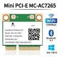 Двухдиапазонная беспроводная карта 1200 Мбит/с, стандартная Bluetooth 4,2, адаптер Wi-Fi 802.11ac 2,4G/5 ГГц, лучше 7260HMW pcie