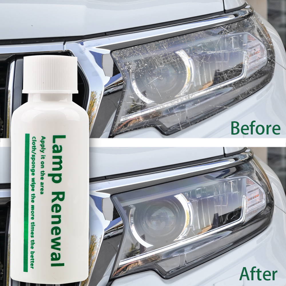 LEEPEE 20/50ml Liquid Lamp Retreading Agent Lamp Renovation Car Maintenance Car Headlight Restoration Polishing Coat