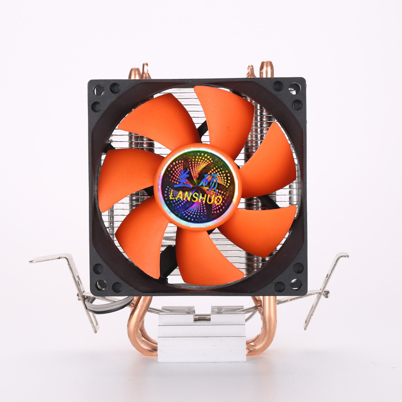 8cm 80mm Mini 2 Heatpipes PC CPU Cooler Heatsink Computer Cooling Fan For LGA 775/1155/1156 AMD AM2 AMD3