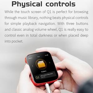 Image 4 - Shanling REPRODUCTOR DE Audio HiFi portátil Q1 ES9218P DAC/AMP, bidireccional, Bluetooth, MP3, compatible con DSD128 PCM32bit/384kHz LDAC/aptX