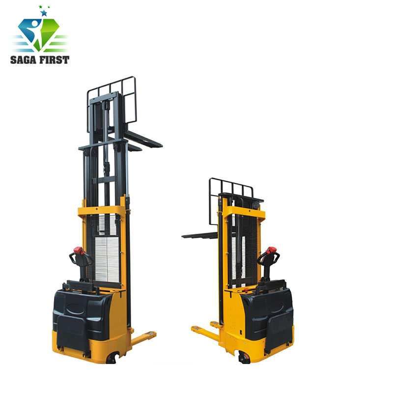 CE Certificated Lifting Equipment Mobile Cargo Lift Electric Stacker/Forklift