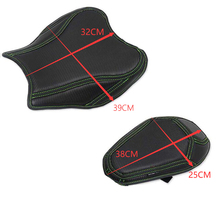 Motorbike Motorcycle Seat Sunproof Leather Cover For KAWASAKI Z900 2018-2019