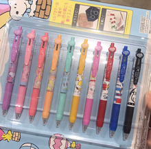 10pcs/set 0.5 mm Colorful Zebra limited Milk color Gel Pen JJ15 Sarasa for Student writing neutral pen Stationery