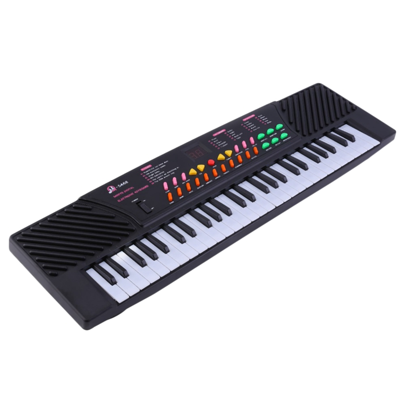 MQ Mq-5468 54 Key Music Electronic Keyboard Piano With Sound Effects- Portable For Kids & Beginners,Eu Plug