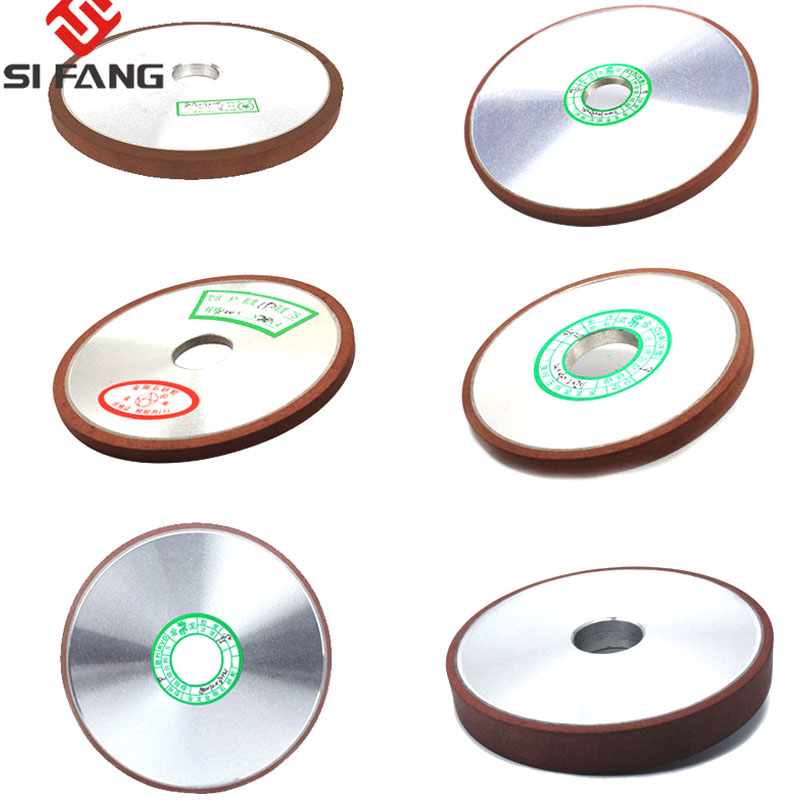 100mm/125mm/150mmDiamond Grinding Wheel Parallel Grinder Disc For Mill Sharpening Tungsten Steel Carbide Rotary Abrasive Tools