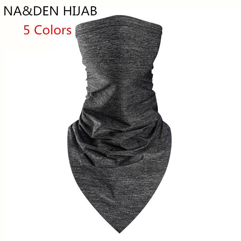 1pc New Outdoor Climbing Hiking Cycling Skiing Fishing Windproof UV Protection Camouflage Bandana Face Mask Neck Scarves Wraps