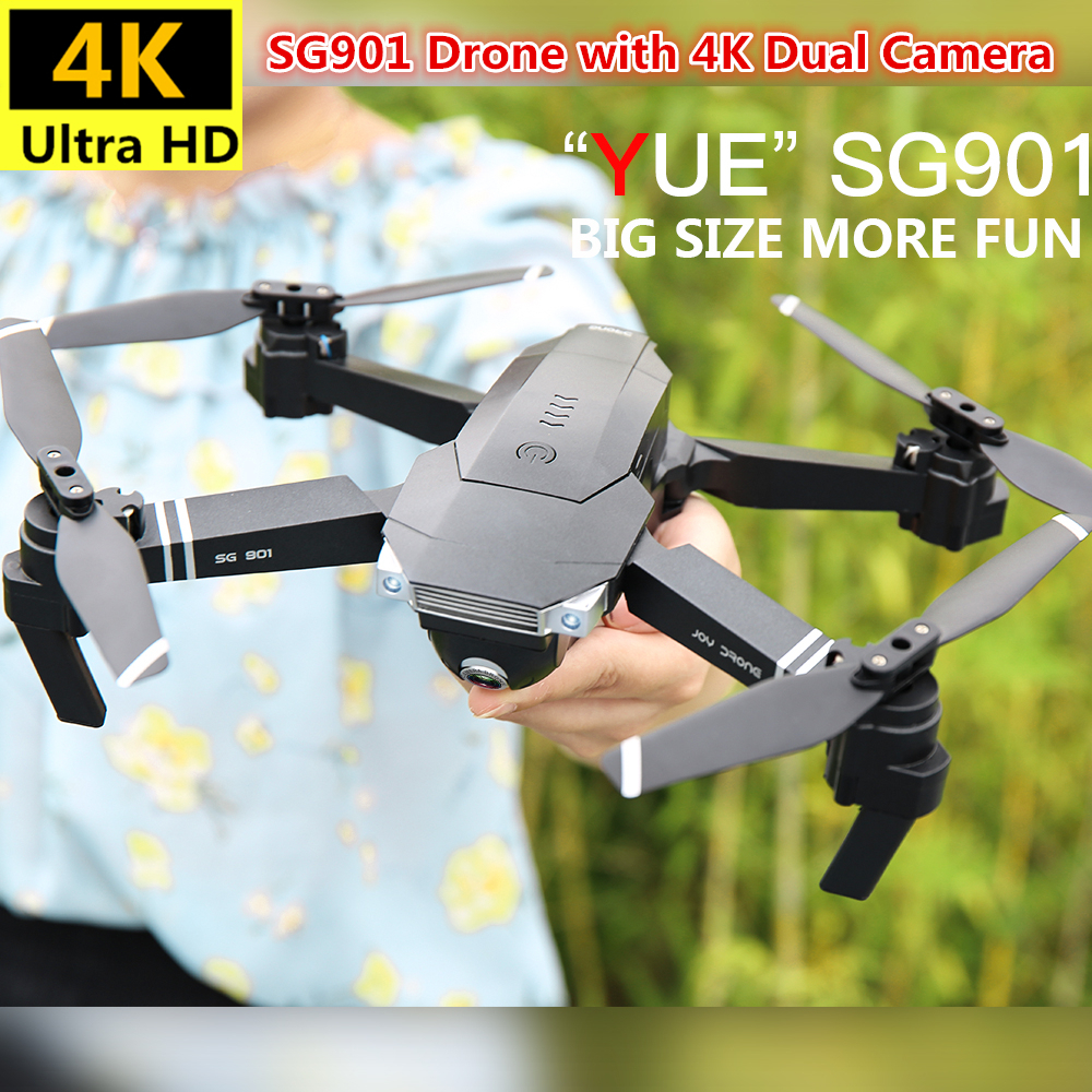 SG901 RC Drone 4K Profesional Quadrocopter with Wide Angle Camera Toys Optical Flow Quadcopter 18mins Battery Life VS XS816 in RC Helicopters from Toys Hobbies