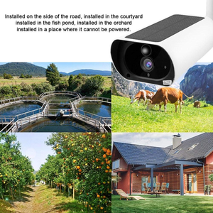 Image 2 - WakeView cámara Solar para exteriores HD 1080P 4G, Audio de vigilancia, seguridad para el hogar, wifi, resistente al agua, alarma PIR, aplicación móvil