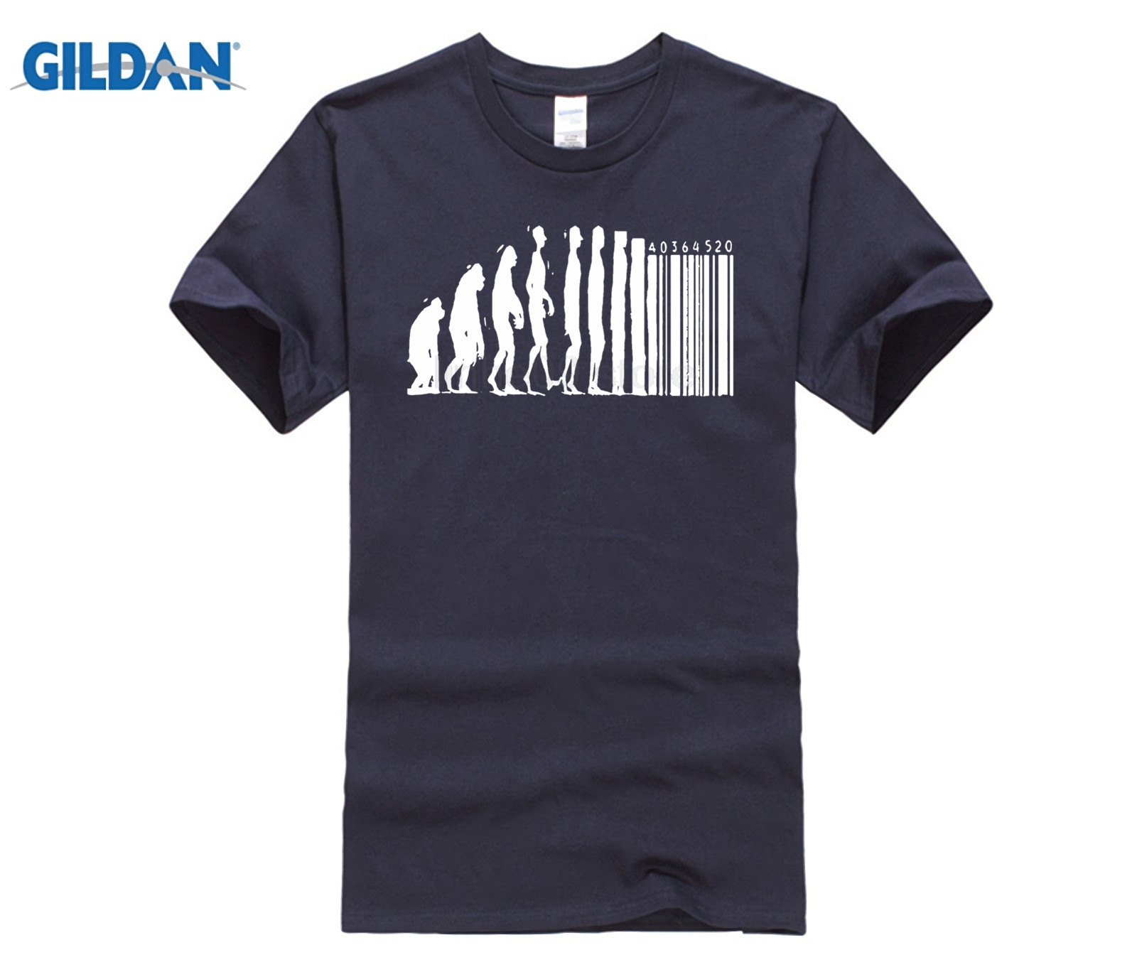 T Shirts Human Evolution Banksy Mankind Monkey Barcode Capitalism Anarchy Tee shirt Design Website image