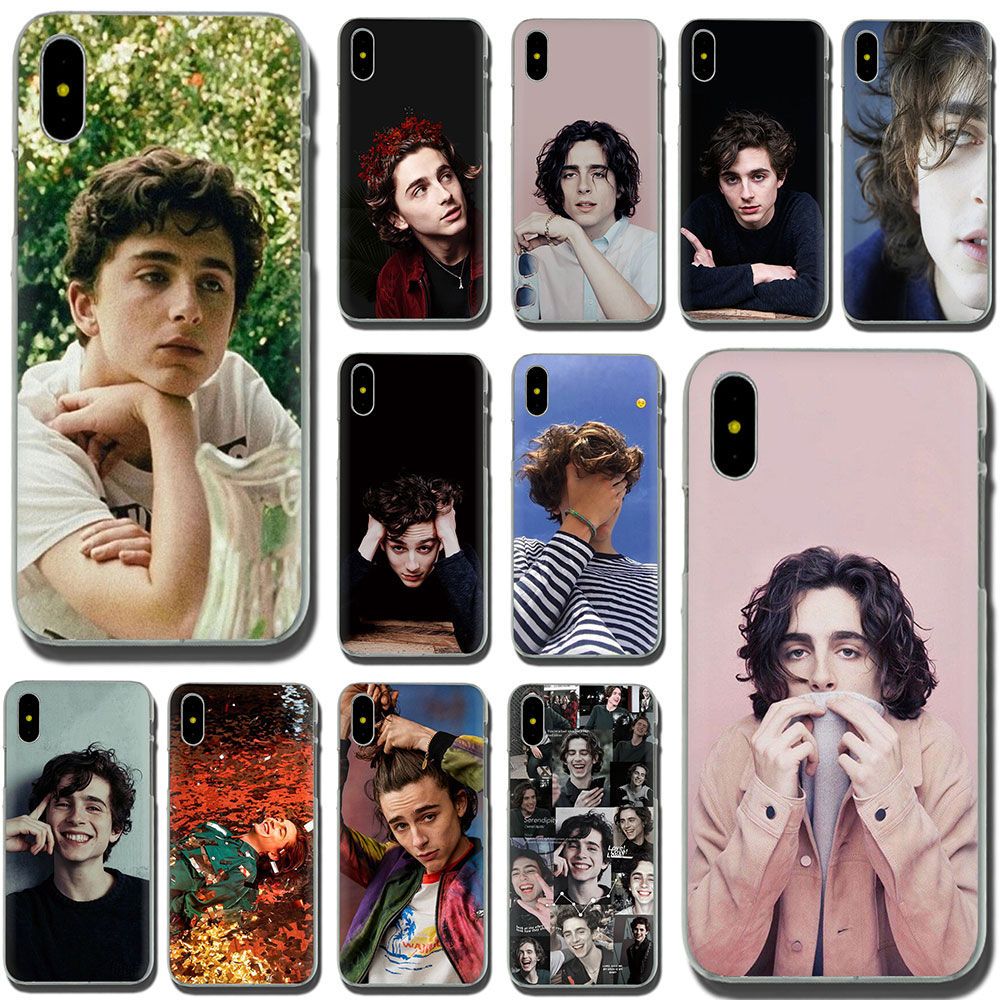 Timothee Chalamet Hard Phone Cover Case For IPhone 11 Pro 6 6S Plus 7 8 Plus X XS XR XS Max