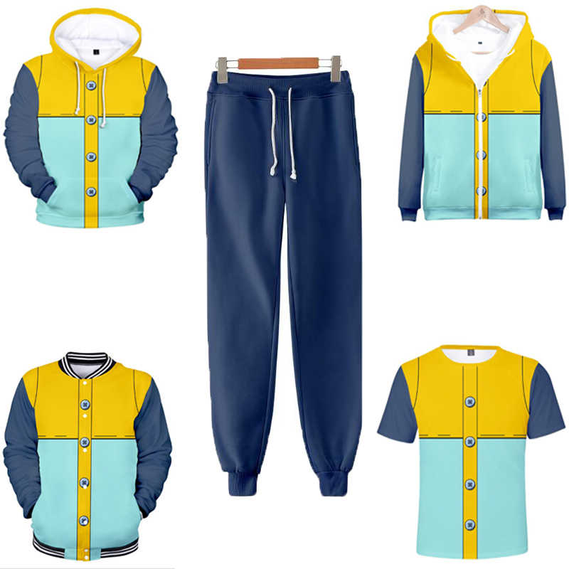 Nanatsu hiçbir Taizai yedi ölümcül günah Cosplay kostüm 3D baskılı kısa kollu tişört/kapüşonlu/ceket/pantolon Streetwear kıyafetler