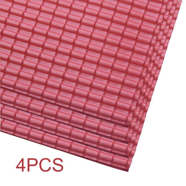 4pcs Layout Sand Table Sheet Model Building Accessories Construction Miniature Roof Tiles Architecture Micro Landscape Garden