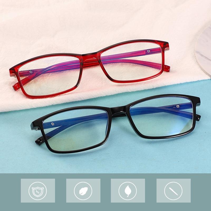 Готовой близорукость очки Для мужчин Для женщин Для мужчин для телефона, компьютера, очки с защитой от УФ-светильник 0-0,5-1,0 1,5 2,0 2,5 3,0 3,5 4,0-4,5-5,0-5...