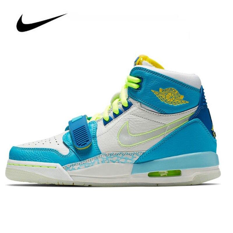 Original  Jordan Shoes Nike Air Jordan Legacy 312 Fly(GS) Women Basketball Shoes Outdoor High-top Sports Sneakers Boots