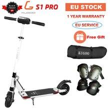 [Европейский запас] KUGOO S1 PRO складной взрослый Электрический скутер 7.5AH 350 Вт 30 км/ч скейтборд для XIAOMI M365 e Скутер PK Ninebot