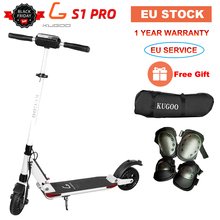 [Europe STOCK] KUGOO S1 PRO Folding Adult Electric Scooter 7.5AH 350W 30KM/H Skateboard For XIAOMI M365 e Scooter PK Ninebot