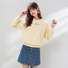 Blue Mini Denim Skirt Sexy Cotton Casual Korean Wrap Lolita Kawaii Vintage School Cute Short Skirts Womens 2019 Autumn