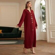 Abaya Дубай Турция Арабский мусульманский хиджаб платье мусульманская
