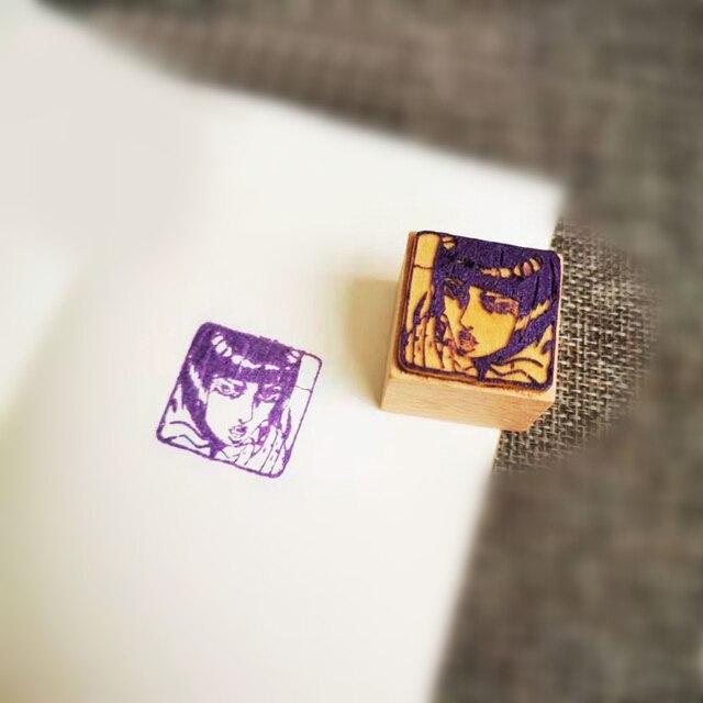 JoJo Prop Wood Stamp