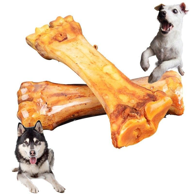 Funny Dog Toys Chewing Bones Toys for Puppy Zabawki Dla Psa Chews Snack Popular Toys Molar Teeth Clean Stick Pet Supplies