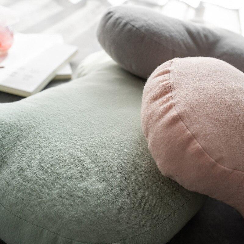 em forma de coracao almofada protecao 05