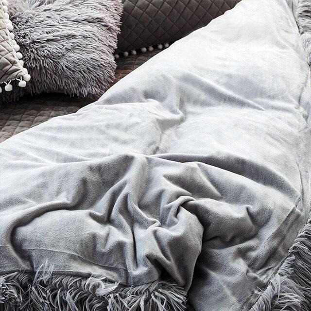 Warm Fluffy Blanket for Bed 5