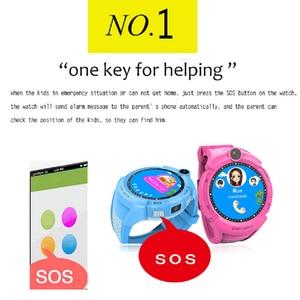 Image 2 - Q360 Kids Smart Watch Camera GPS WiFi Location Smartwatch Children SOS Anti Lost Monitor Tracker Baby Wristband Watch Kids Gifts